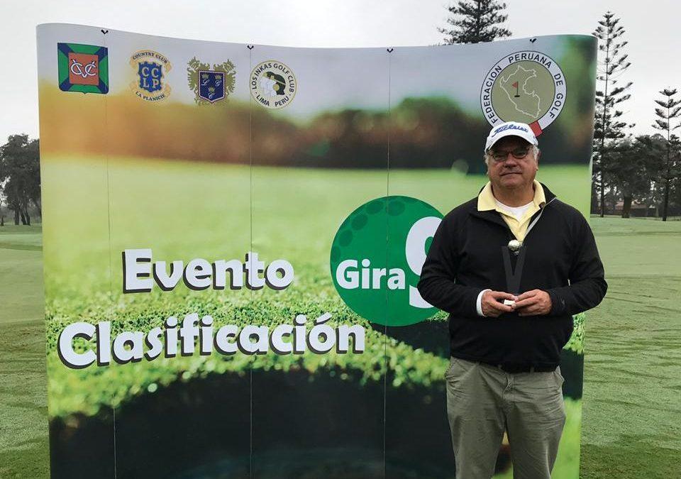 Gustavo Alibert, ganador del cuarto evento de la Gira9