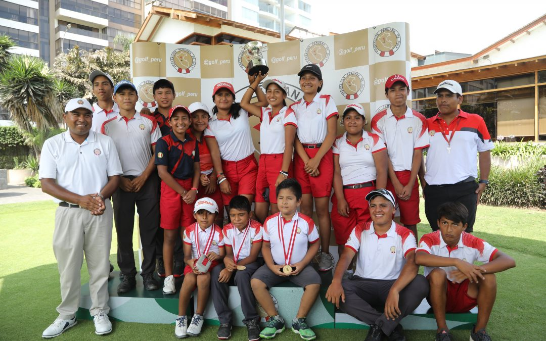 Escuela de San Bartolo se alzó con el título de campeón del Interclubes de Menores