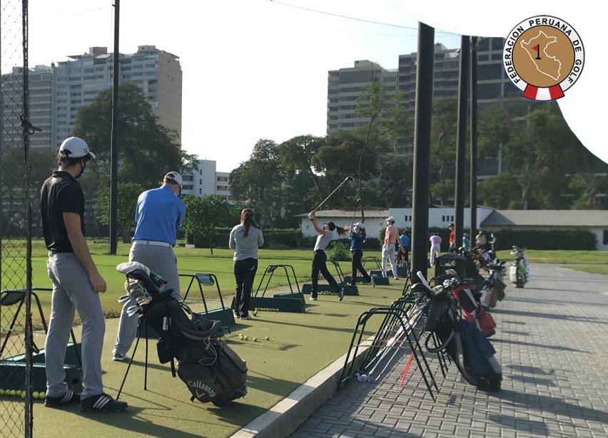 ¡Estamos de vuelta! Selección ya practica en la sede del Lima Golf, en San Isidro