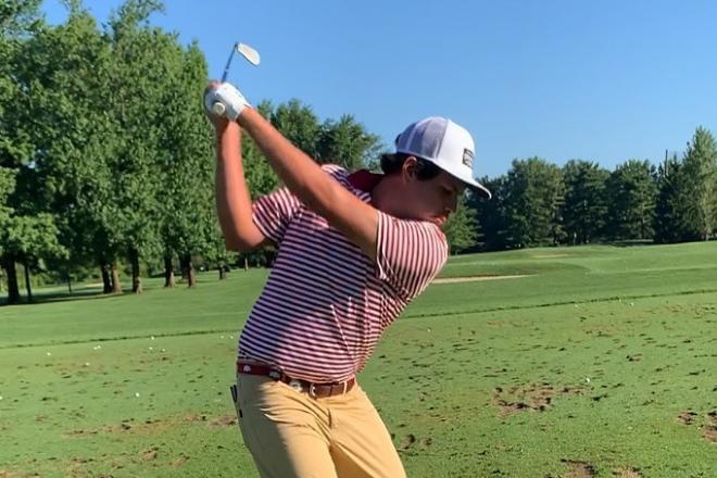 Golfistas nacionales empezaron a competir en el extranjero