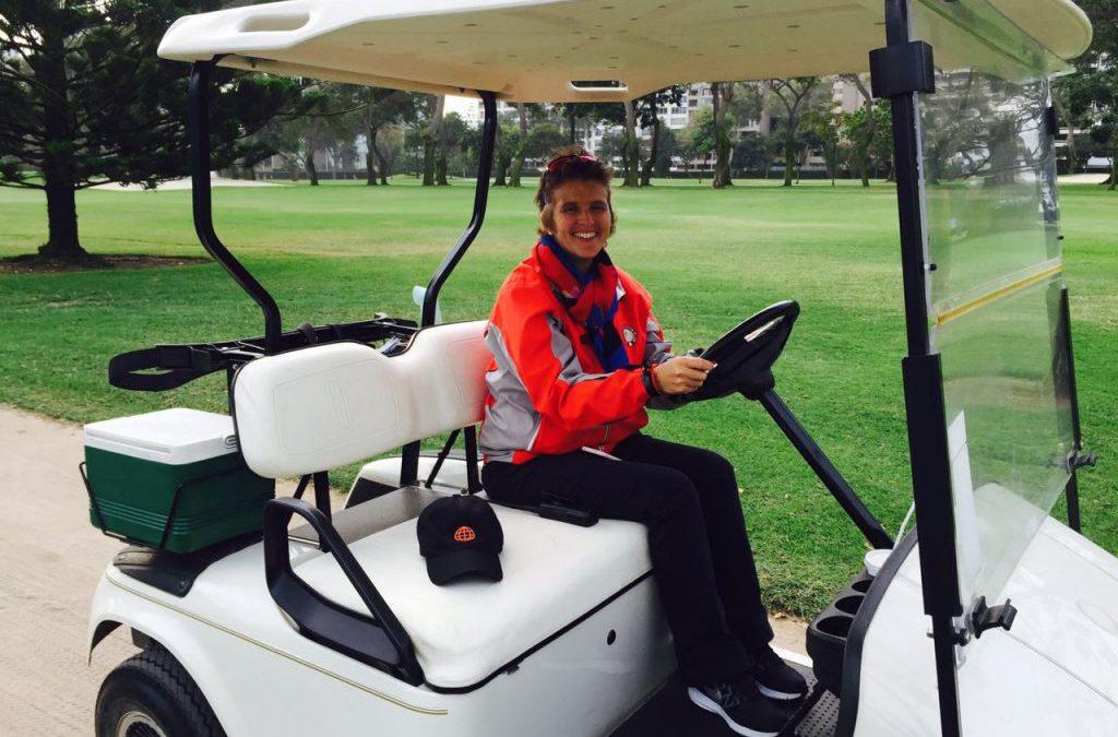 """Magdalena Villar: """"Hace mucho tiempo no habían tantas chicas jugando golf… jugando buen golf"""""""
