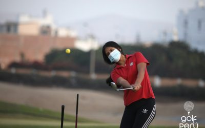 Golfistas sanbartolinos cumplen primera semana de entrenamiento presencial bajo estrictas medidas de bioseguridad