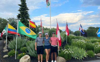 Galdos, Plenge y Mesones comienzan hoy su participación en el International Junior Masters