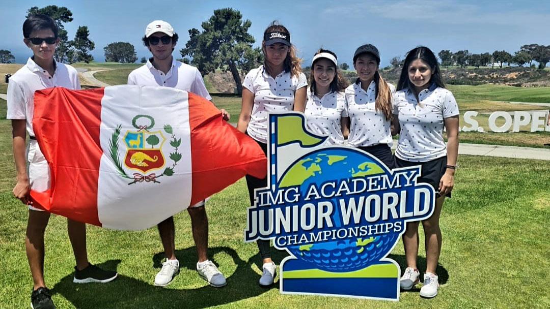Luisamariana Mesones y Ximena Benites: Cuarto lugar por equipos en el IMG Academy Junior World Championships