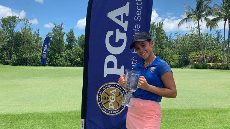 Zoe Pinillos ganó el Brendan C. Jr. Open
