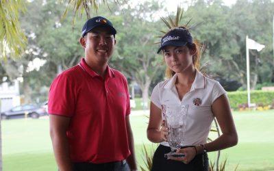 Luisamariana Mesones obtuvo su primero título en un torneo AJGA: el Ben An Junior Championship